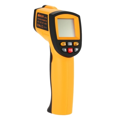 KKmoon Termometro a infrarossi /IR Termometro a digitale / Termometro -50 ℃ a 700 ℃ /-58~ 1292F)Non-Contact Infrared Digital Thermometer Laser