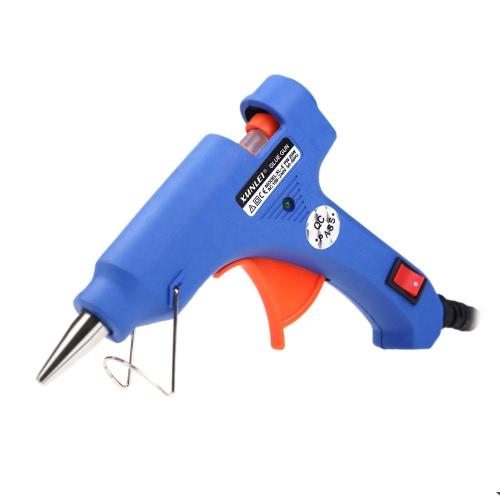 XL-E20 Высокотемпературный нагревательный клей-пистолет 20W Handy Professional с 1 инструментом для восстановления шва