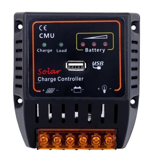 20A 12V/24V Panel Solar batería controlador con protección de sobrecarga del sistema USB salida Auto regulador de carga