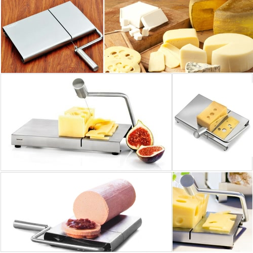 Stainless Steel Cheese Slicer Butter Cake Cutting Knife