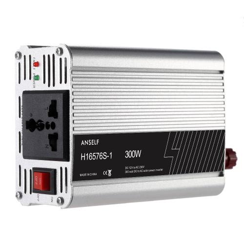 DC12V 300W для AC220-240V переменного тока бытовые солнечной энергии инвертор преобразователь изменение синусоидальной формы