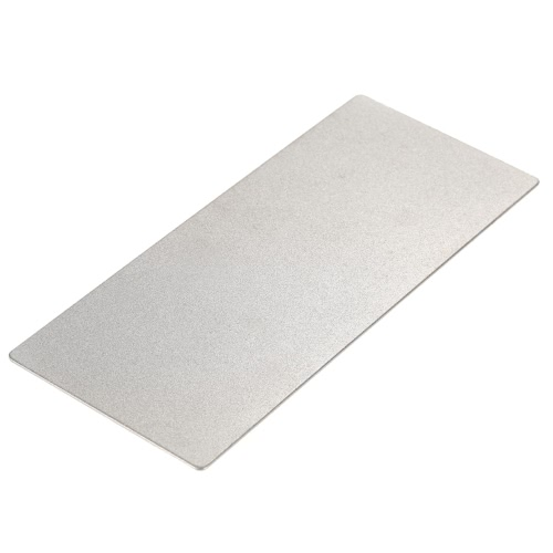 Anself 400 Grit Diamant Whetstone Messer Wetzstein Messer Schleifstein 150 * 63 * 1mm