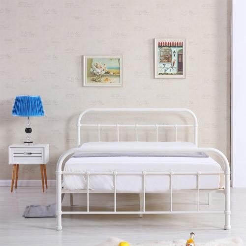 iKayaa Современная платформа Металлическая Каркас кровати с деревянными планками для Full / Queen / King / Калифорния Sized Матрасы фонд + Изголовье и изножья Мебель для спальни