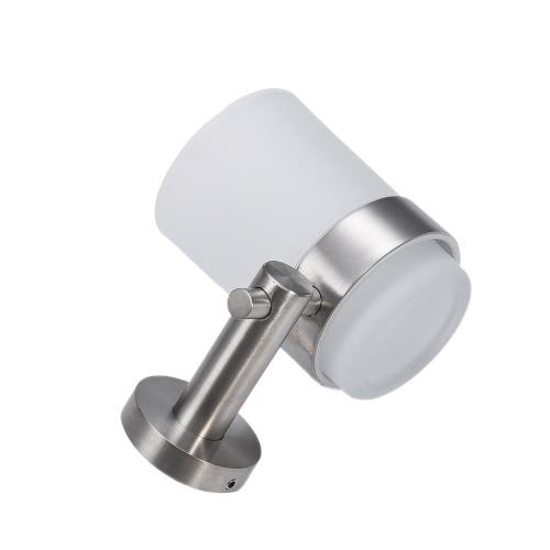 Homgeek Wysokiej jakości naścienna nierdzewna matowego szkła Cup Kubek do mycia zębów Uchwyt Wieszak Rack kuchnia łazienka
