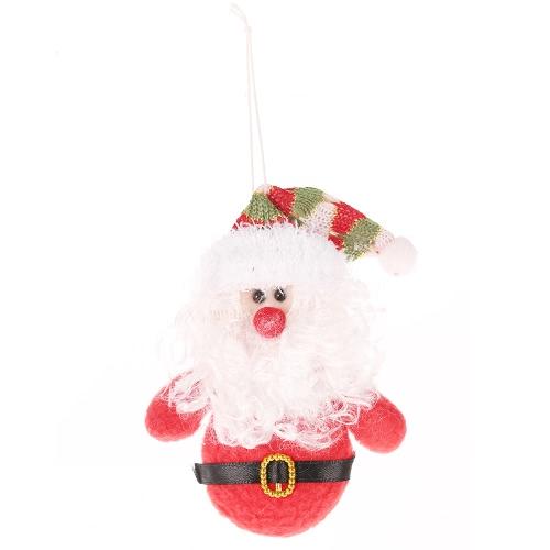 Snowman Mignon / Santa Claus Arbre de Noël Suspendre Boule de Noël pendentif Toy Doll Décorations de Noël meilleur cadeau