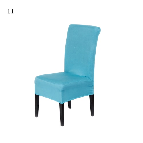 Universal Removable Washable Elastic Cloth Stretch Chair Cover Slipcover 20 Colors Available Home Dining Room Hotel Wedding Banquet Party Decorations