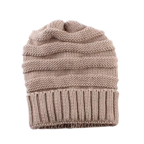 Мода Мужчины Женщины Kid осень-зима теплая унисекс Упругие Голова Череп Cap вязать Трикотажные шерсти вязания шапочки для лыж Пустой цвет шапки