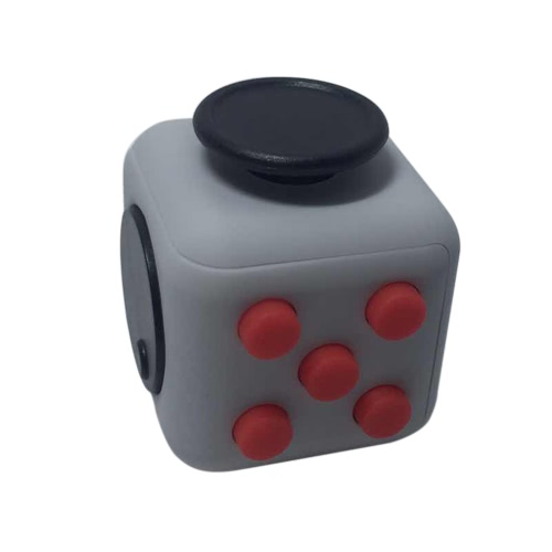 6 côté Fidget Cube Dice Attention focus Toy Anxiété Stress Relief Enfants Adultes Cadeau de Noël de Noël