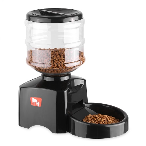 Programmable 5.5L LCD Display Automatic Pet Feeder for Cat Dog