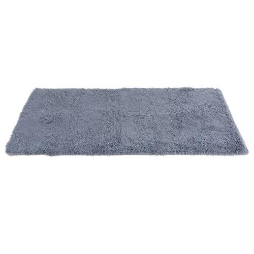 80*160cm Ultra Soft Indoor Shaggy Area Rug Highly Absorbent Carpet Non-skid Footcloth Mat Ground Mat Fluffy Rugs Floor Mat