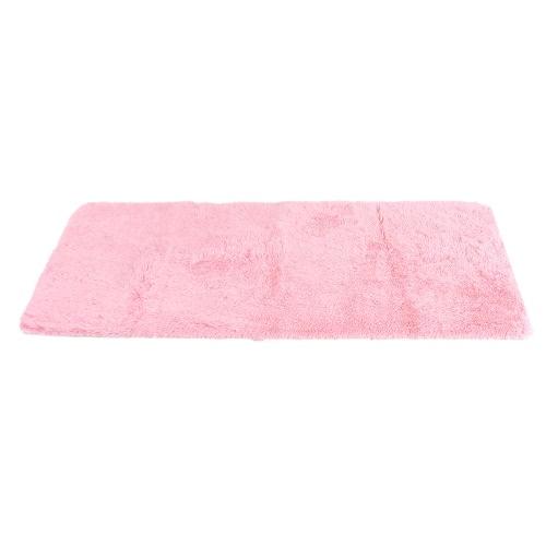 120*200cm Ultra Soft Indoor Shaggy Area Rug Highly Absorbent Carpet Non-skid Footcloth Mat Ground Mat Fluffy Rugs Floor Mat