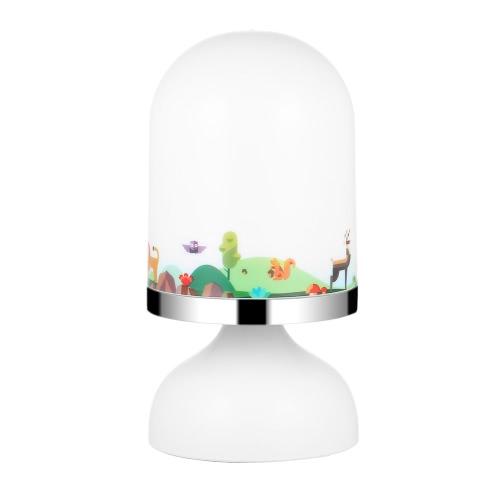 Портативный USB аккумуляторная датчик вибрации Baby Room Висячие светодиодные Night Light Детские лампы для спальни Желтый свет