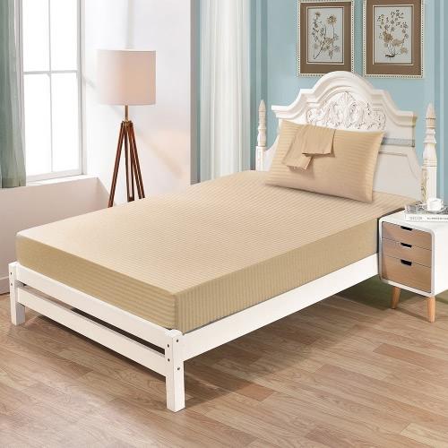 Хорошо сделанный мягкий комплект постельных принадлежностей из хлопка с наволочным корпусом и установленным листом 12