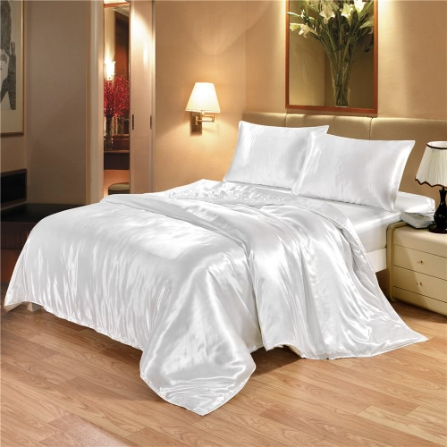 Silk-like Bettwäsche Set Gut gemacht Soft Silky Smooth Duvet Cover & Kissenbezug Sets Nice Home Textiles