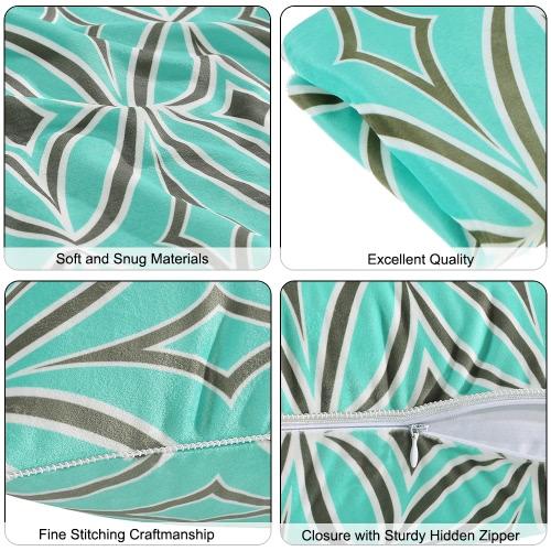 "12""*20"" Rhombic Pattern Throw Pillow Case Soft Cushion Cover Sofa Chair Decorative Pillow Cover 30*50Cm Pillow Sham With Hidden Zipper Closure"