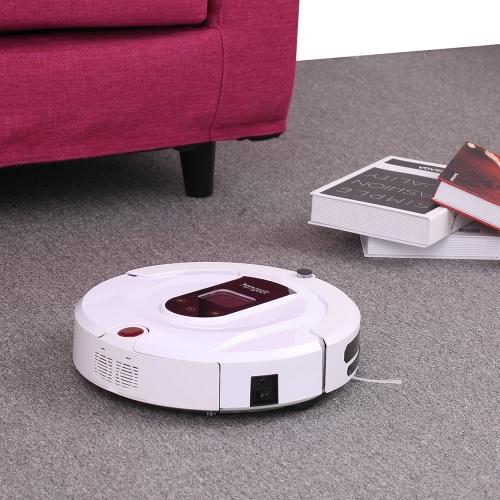 Homgeek Автоматический пылесос Роботизированная интеллектуальная подметальная машина Интеллектуальная чистка пола Очистка робота-робота с дистанционным управлением фото