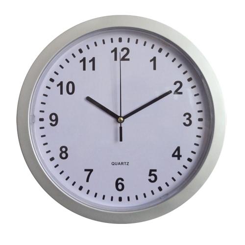 Horloge murale moderne et polyvalente de 10 pouces Secret Safe Money Sécurité à la maison Stash Stuff Conteneur de stockage Boîte encastrée Décoration en bijoux en plastique