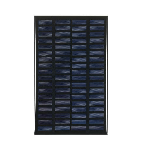 2.5W 18V Polycrystalline Silicon Solar Panel Cellule solaire pour DIY Power Chargeur 120 * 194mm