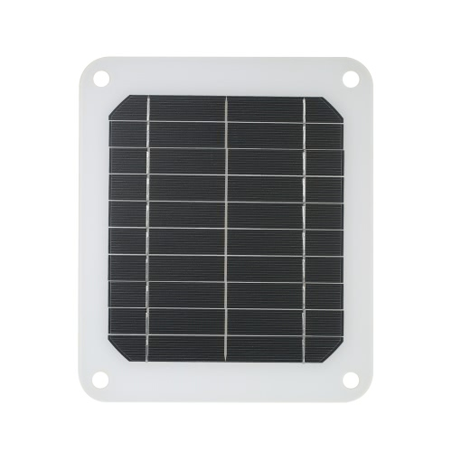 5W 5V Outdoor Portable Monocrystalline Silicon Solar Charger Panel USB Output for Mobile Phone Power Supply