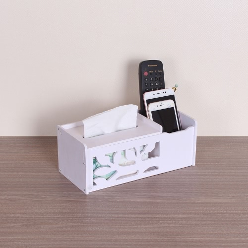 Multifunktionale Tissue Box Creative DIY Haushalt Artikel Pocket-Taschentuch Telecontroller Aufbewahrungsbox Container Fall