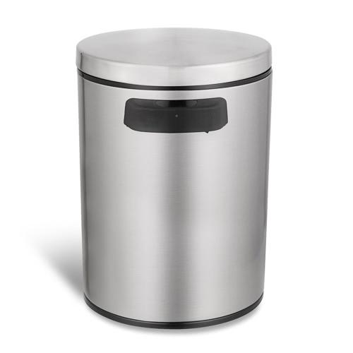 1.3 Gallon Touchless Trash Can Smart Sensor Garbage Can Stainless Steel Dust Bin Trash Bin