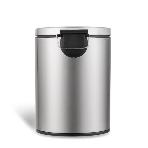 1.3 Gallone Touchless Mülleimer Smart Sensor Müll kann Edelstahl Abfalleimer Mülleimer