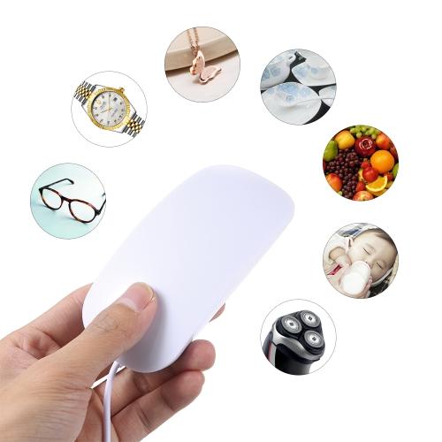 USB Portable Mini Ultrasonic Washing Machine Cleaner Washer