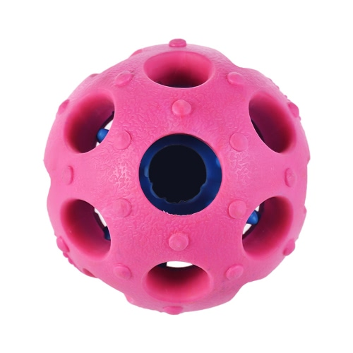 Non-toxic Thermoplastic Rubber Toy Treat Ball Bouncy Ball for Dogs & Cats Interactive Educational Pet Toys
