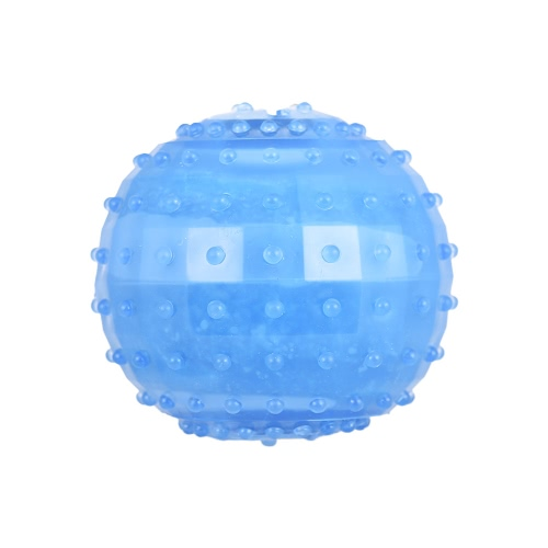 Dog Teething Toy Freeze Treat Ball Interactive IQ Brinquedos para animais para cachorros Cats Guinea Pigs
