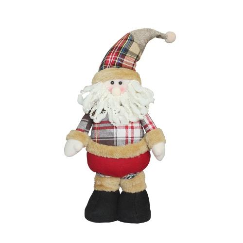 Christmas Extendable Standing Doll --Santa
