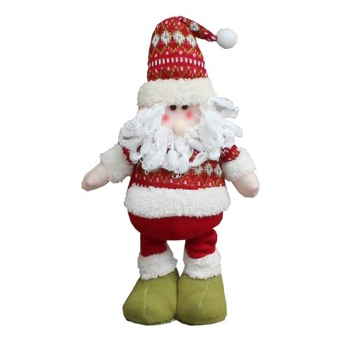 Boże Narodzenie Rozszerzona Stała Doll Toy Santa Dekoracje Ozdoby Christmas Gift
