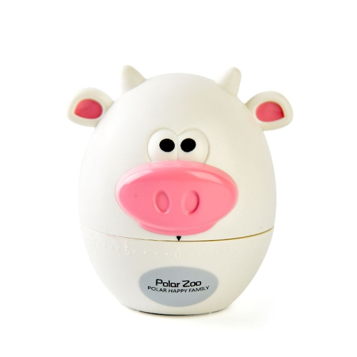 60-Minute Timer Cartoon Mini Calf Mini Bear Timer Kitchen Machinery Timer Countdown Timer