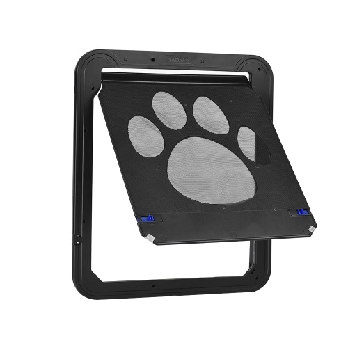 Lockable Pet Door Automatic Dog Cat Door Magnetic Screen Door
