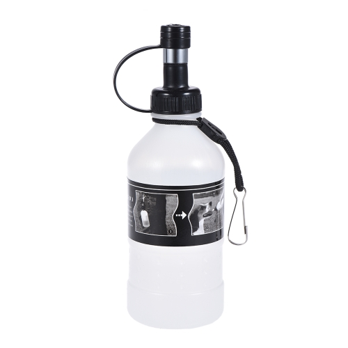 350ml Puppy Dog Cat Pet Al aire libre Agua potable Botella caldera Dispensador Plástico