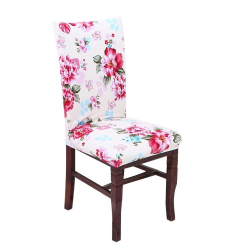 Printing Chair Cover All Seasons Hotel Household Conjoined Chair Cover Soiling Resistance