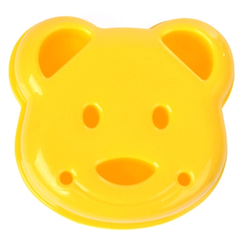 Sandwich Cutter DIY Mold Cute Bear Shaped Bread Embossed Tools Rice Mould for Kids Happy Lunchtime Appetite Improver