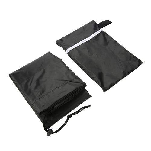 Wielofunkcyjny zewnątrz wodoodporny meble pokrywa stół biurko krzesło sofa protector odporny na promieniowanie UV trwały ogród fotel tkanina 64 * 64 * 120 cm