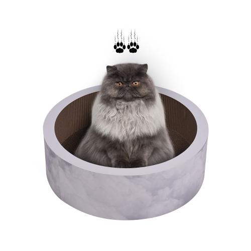 Katzenkratzer-Wellpappen-Pappe, die Bett-Aufenthaltsraum-Spielwaren für Kätzchen verkratzt