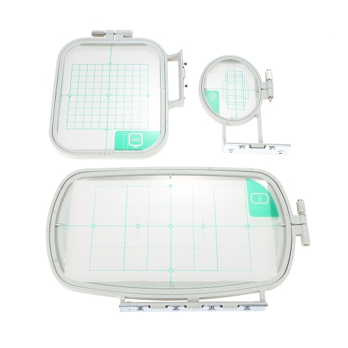 Domestic Sewing Parts Embroidered Box Embroidery Hoop Set Frame Set for Brother Sewing Machine