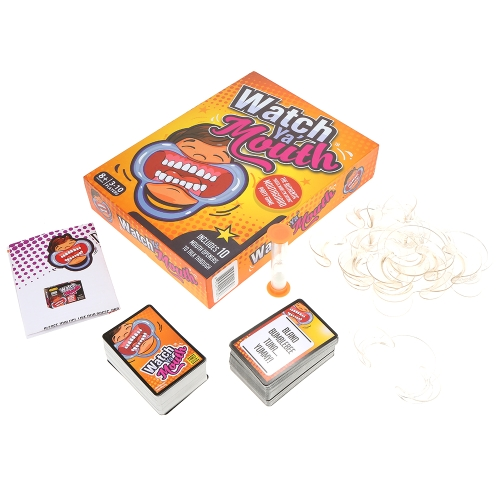 Watch Ya Mouth Family Edition The Authentic Hilarious Mouthguard Party Card Game