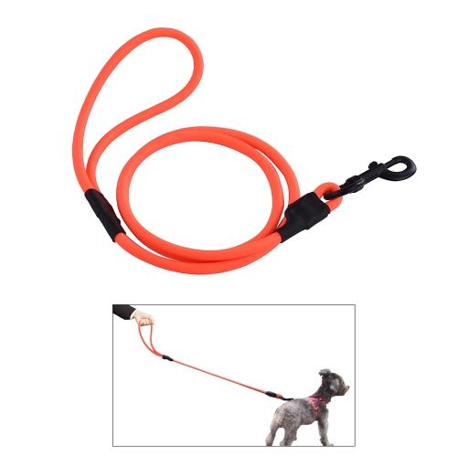 SSL012P PVC Runde Hundeleine Wasserdicht Deodorant Hund Arbeitsleine für Medium Große Hunde Einfach zu Reinigen Hund Liefert