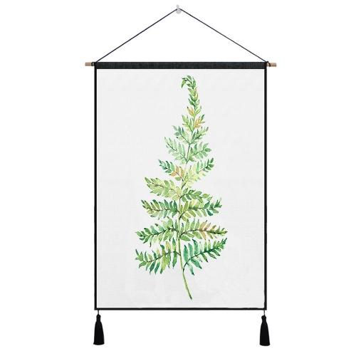 Pflanzen Tapisserie Wandkunst Tapisserien Tropical Home Dekorative Tür Vorhang Wohnzimmer Tagesdecke Blatt Tischtuch Hängen Decke Teppich 1 #