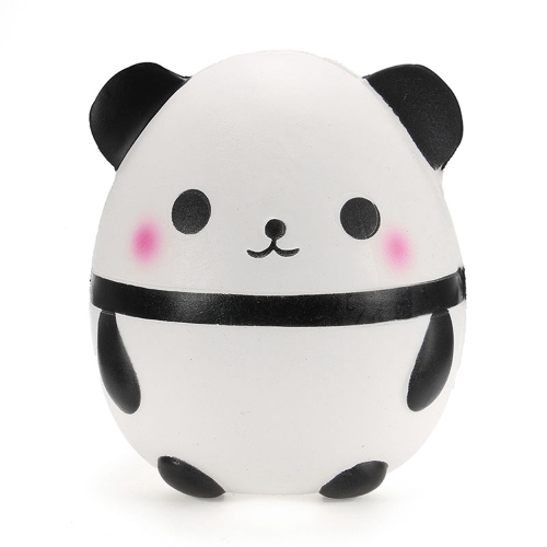 Squishy Soft Panda Doll Egg Slow Rising Collection Gift DIY Decor Soft Squeeze Toy Phone Straps Fun Gift