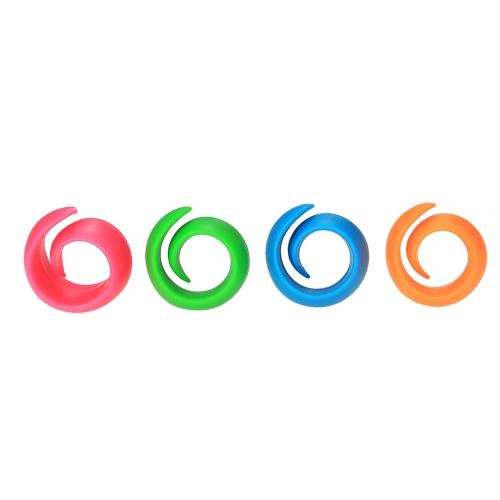 12pcs/set Assorted Colors Peels Thread Spool Huggers Holders Keep Thread Tails Under Control Preventing Unwinding Spool Organizers