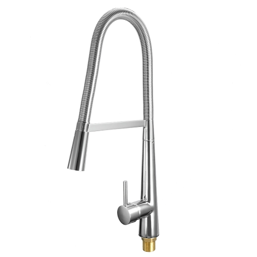 Estilo europeo Pull Out ORB Single Connection Cocina Tap Stud Instalación Rotatable Sink Water Faucet
