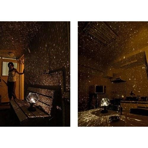 Светодиодные проекционные лампы с подсветкой Вселенная Ночной свет Проектор трех цветов Тень звезд созвездий