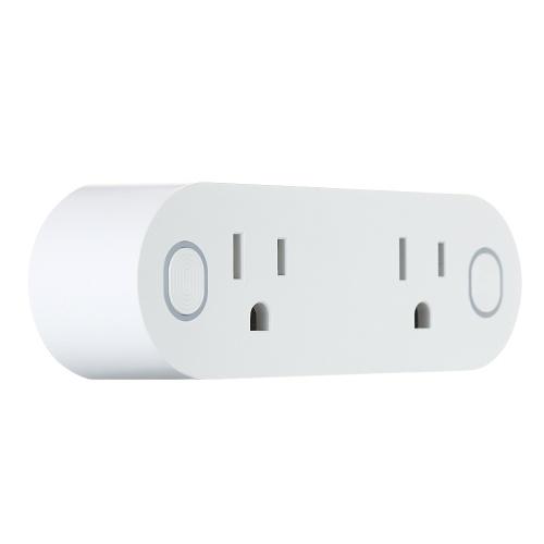 Mini 2 в 1 WIFI Smart Plug Socket Wireless
