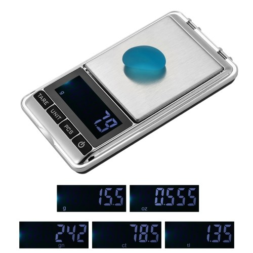 1000g/0.1g High-precision Pocket Scale Accurate Kitchen Scale Jewelry Scale Mini Food Scale Electric Kitchen Scale Baking Scale