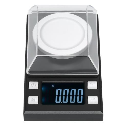 Bilancia da tasca professionale Milligram digitale da 50 g / 0,001 g