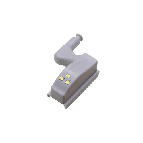 Универсальный шкаф петли Светодиодный датчик света для кухни Гостиная Спальня Шкаф Шкаф Гардеробная лампа 1шт Белый